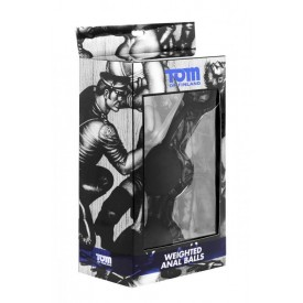 Анальные шарики Tom of Finland Weighted Anal Balls